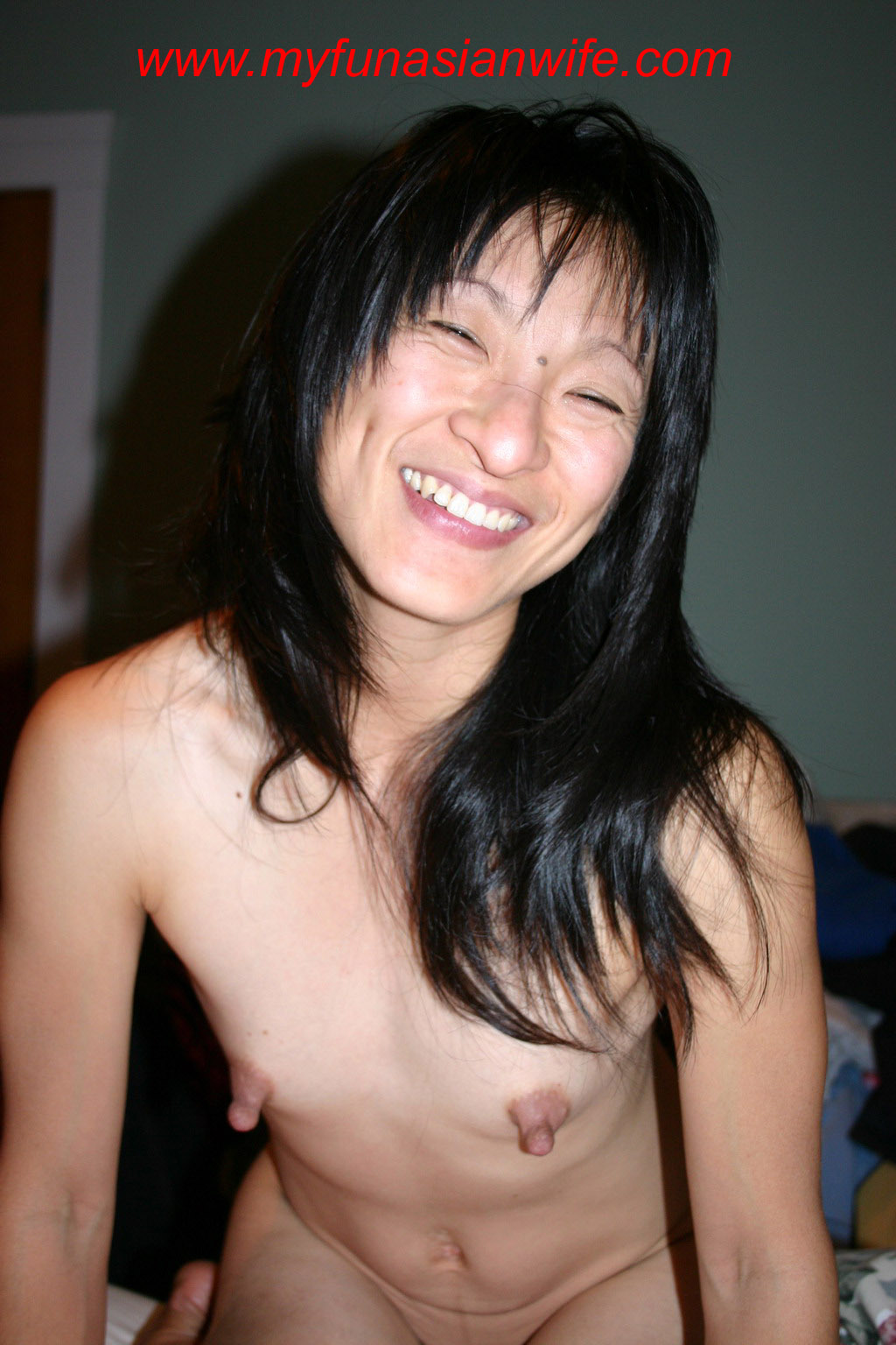 Asian wife huge nipples